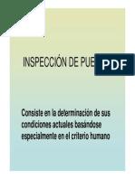 Inspeccion de Puentes
