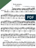 Metodi - Pianoforte - Duvernoy - Scuola Primaria Op.176