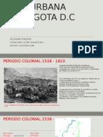 Desarrollo de La Ciudad de Bogotá