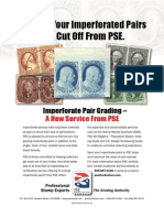 Imperforate Pair Grading - A New Service From PSE