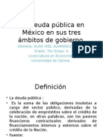Deuda Publica en Mexico