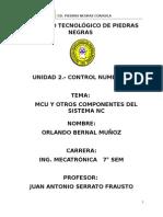 MCU y Otros Componentes Del Sistema NC