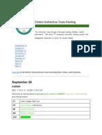 caruso2014-15districtinstructionalteammeetings