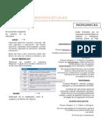 Biomoléculas para PSU