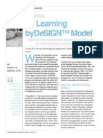 6e learning by design model