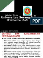 Presentasi Ajar Kewirausahaan
