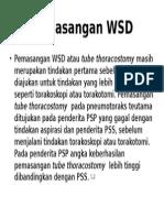 Pemasangan WSD