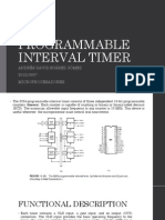 8254 Programmable Interval Timer(Andres Suarez-201210937)