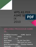 Welding Procedur Specification