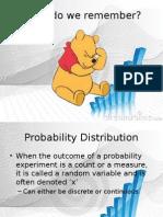 5 Discrete Distributions