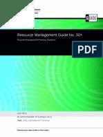 Resource Management Steps