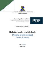 2 Relatório de Viabilidade