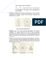 Clase Trapezoedrica Hexagonal