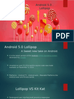 Lollipop 5.0 Operating Systems Presentation