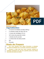 Batatas souté