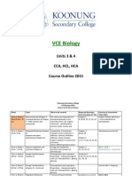 vce unit 3 4 biology course outline 2015  1