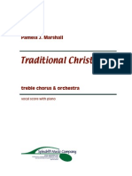 Traditional Christmas - Vocal Score