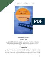 Anatomia Del Espiritu Caroline Myss