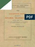 Documente inedite privitoare la istoria Transilvaniei între 1848-1859  Din actele Arhivei de Stat a Ministerului de Interne şi Justiţie dela Viena.pdf