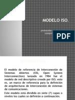 Modelo ISO%2c Protocolos Que Intervienen y Componentes de La Red