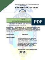 2 Informe BIMENSUAL Julio y Agosto 2015