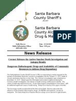 Andres Sanchez Coroner Investigation Results - ADMHS Community Resources
