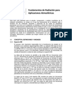 Cap 1 - Fundamentos Del Campo de Radiacion Para Aplicaciones Atmosfericas