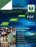 Outcomes Based Education (OBE) Seminar