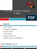 No SQL HBase Overview v 1.0