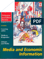Philippine Journalism Review December 1996