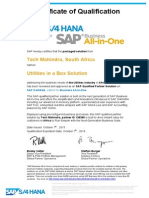 Tech Mahindra is a SAP-Qualified Partner Solution on SAP S/4HANA, edition for SAP Business All-in-One.