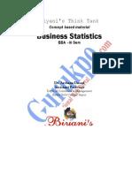 BBA Lll Sem Statistical Methods