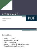 Refleksi Kasus Interna Tb