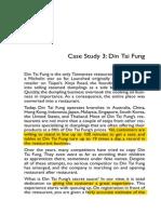 Case Study on DTF