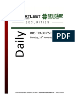Trader's Daily Digest- 16.11.2015