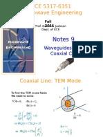 Notes 9 - Waveguides Part 6 Coax