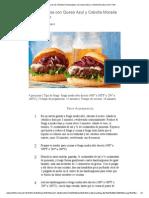 Recetas de Res Weber Hamburguesa Con Queso Azul y Cebolla Morada Al Vino Tinto[1]