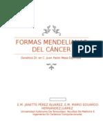 Formas Mendelianas Del Cancer
