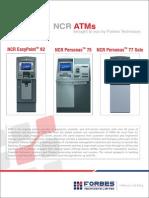 Brochure Desgin NCR ATMs
