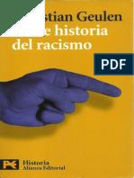 Geulen.breve Historia Del Racismo