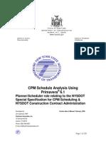 Nysdot p6client Training Manual