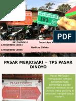 ETBIS Pasar Merjosari