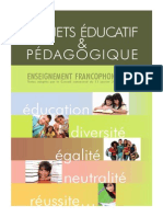 projets educatif et pedagogique-2014  1