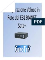 Configurazione rete SATA+