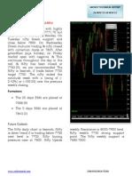CNX NIFTY Technical Report 16 Nov to 20  Nov