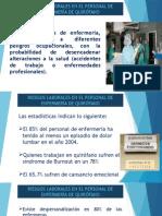 Riesgos Laborales en El Personal de Enfermerc3ada De