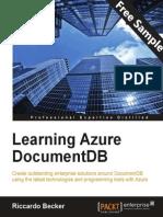 Learning Azure DocumentDB - Sample Chapter