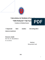 Comparatie Intre Analiza Cefalometrica Clasica Si Moderna
