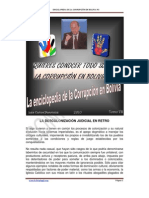 Enciclopedia de la corrupción en Bolivia VII