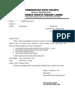 Surat Pemberitahuan Penyuluhan Dan Pemeriksaan Sanitasi Sekolah